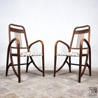 Original pair of Thonet 511 armchairs