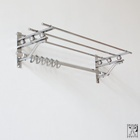Art Deco hall coat rack