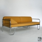 tubular steel couch according to a draft by Anton Lorenz