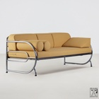 tubular steel couch/daybed in the style of the Czech Modernism